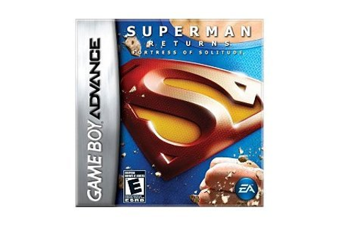Superman Returns Fortress of Solitude - Game Boy Advance ...