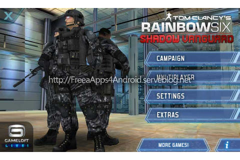 Tom Clancy's Rainbow Six: Shadow Vanguard HD v1.0.1 | Free ...
