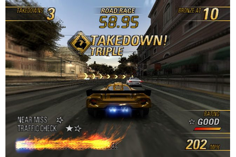 Burnout Revenge (2005) by Criterion Games PS2 game