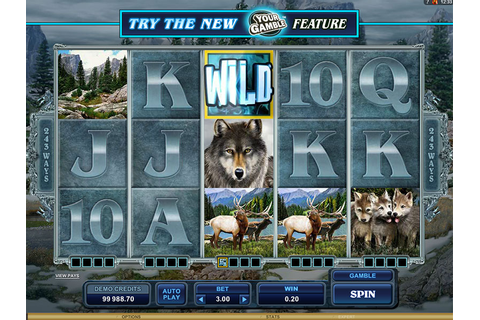 Untamed Wolf Pack Slot - Free Play Spins | DBestCasino.com