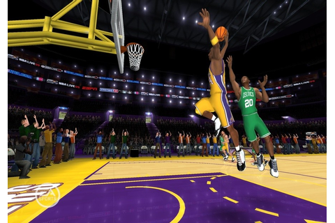 NBA Live 09 All-Play (Wii) Screenshots