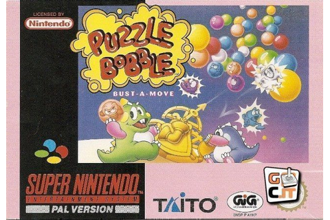 Puzzle Bobble ROM - Super Nintendo (SNES) | Emulator.Games