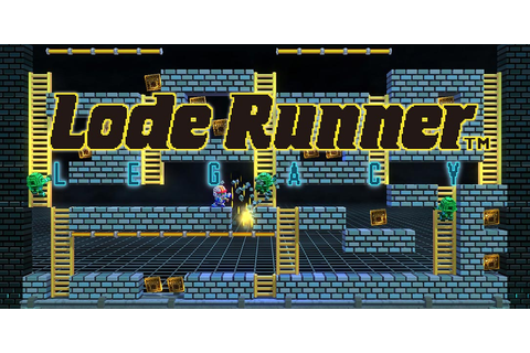 Lode Runner Legacy speeds onto Nintendo Switch