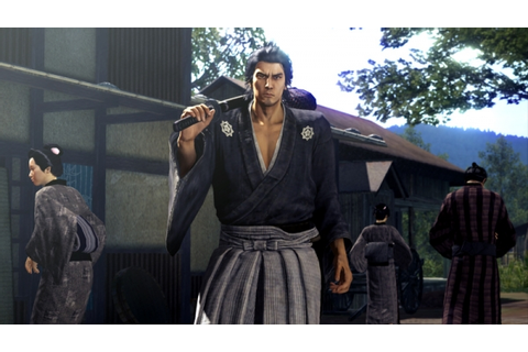 Yakuza: Ishin website opened, debut screenshots - Gematsu