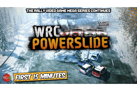 WRC Powerslide - PC Gameplay (First 15 Minutes) Rally ...