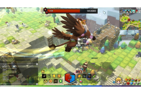 MapleStory 2 Online Alpha Adventures Part 3 World Bosses ...