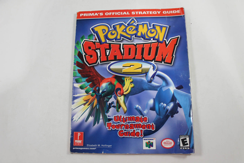 Pokemon Stadium 2 Official Strategy Guide - Prima Games