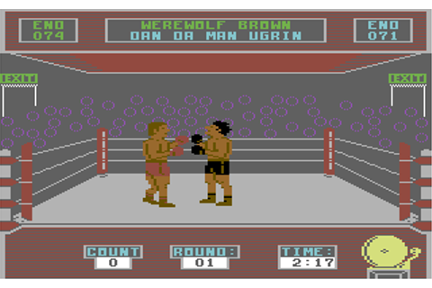 Barry McGuigan World Championship Boxing - Commodore 64 ...