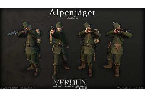 Verdun - Alpenjäger Squad Anthem - YouTube