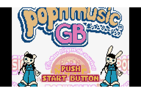 [pop'n music GB] Title - YouTube