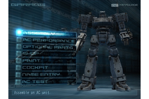 Armored Core Nexus Sony Playstation 2 Game