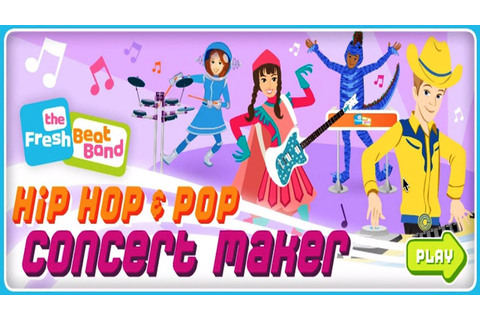The Fresh Beat Band Concert Maker Game for kids - YouTube