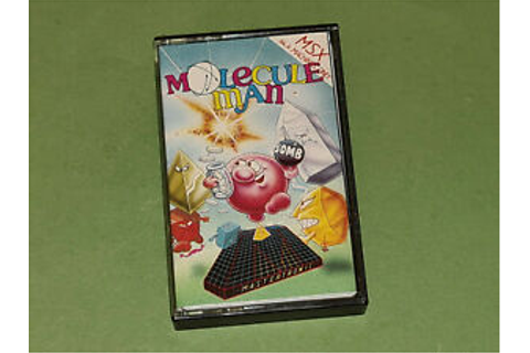 Molecule Man MSX Game - Mastertronic Added Dimension (SCC ...