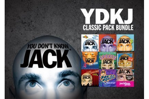 YOU DON'T KNOW JACK Classic Bundle | Jackbox Games