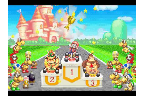 Game Boy Advance Longplay [075] Mario Kart: Super Circuit ...