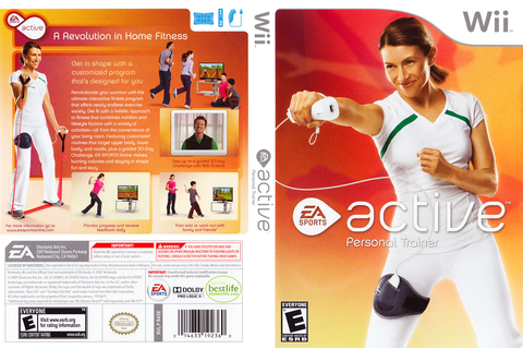 R43E69 - EA Sports Active: Personal Trainer