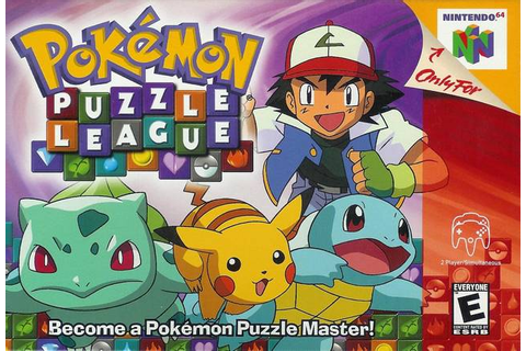 Pokemon Puzzle League Nintendo 64 Game