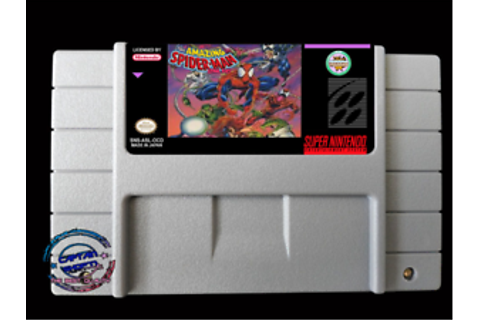 The Amazing Spider-Man: Lethal Foes SNES Video Game USA ...