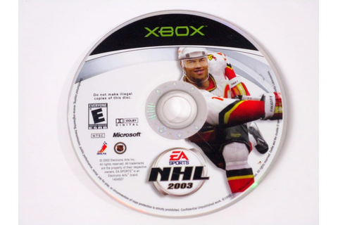 NHL 2003 game for Xbox (Loose) | The Game Guy