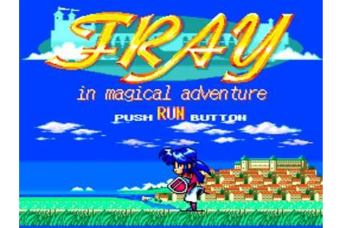 Fray in Magical Adventure CD: Xak Gaiden Details ...