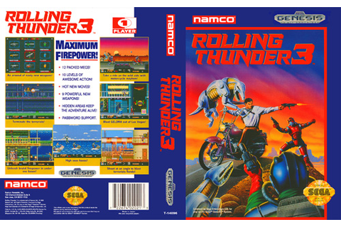 Rolling Thunder 3 – a hidden gem on the Genesis | Xanafalgue