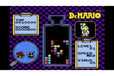 Music Dr. Mario - fever, chill NES, Dendy - YouTube