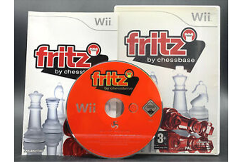 "Nintendo Wii GAME ""FRITZ by Chessbase Chess Trainer ..."
