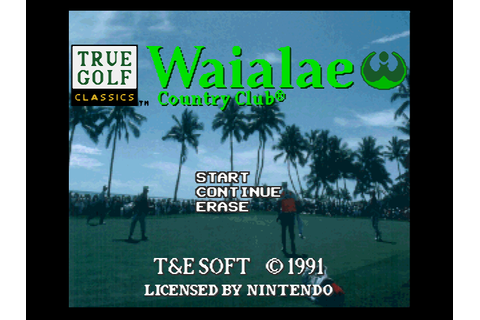 True Golf Classics: Waialae Country Club Download Game ...