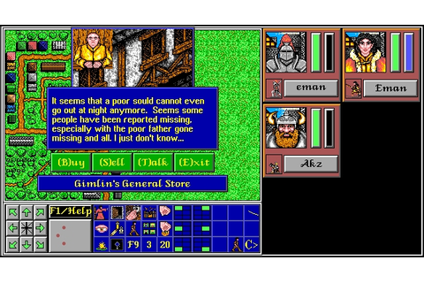 Download The Aethra Chronicles rpg for DOS (1994 ...
