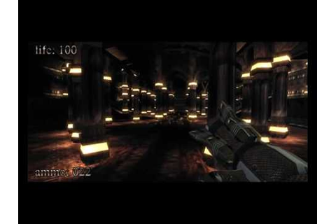 .kkrieger - The FPS Game in 96KB (Full Gameplay) - YouTube