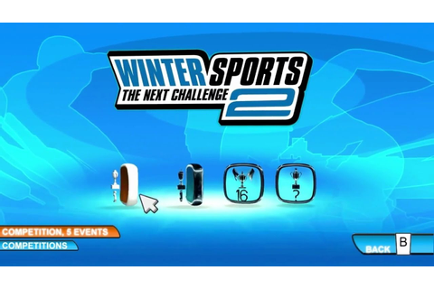 Winter Sports 2: The Next Challenge - Wii Gameplay - YouTube