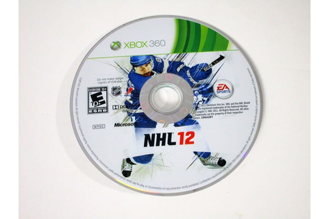 NHL 12 game for Xbox 360 (Loose) | The Game Guy