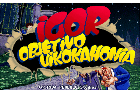 Download Igor: Objective Uikokahonia - My Abandonware