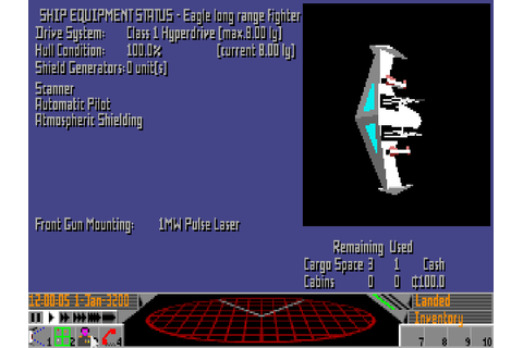 Frontier: Elite II - The Company - Classic Amiga Games