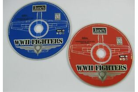 Jane's Combat Simulation WW2 WWII Fighters PC Game CD-Rom ...