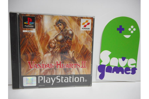 Vandal Hearts II - Save Games