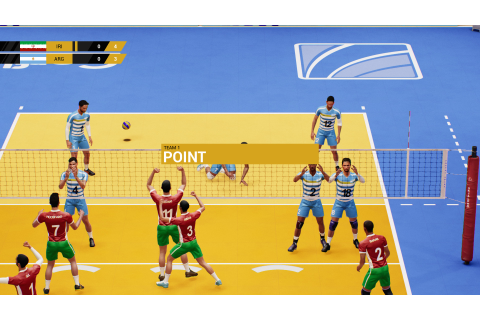 Spike Volleyball v20190320 torrent download - Sport simulator