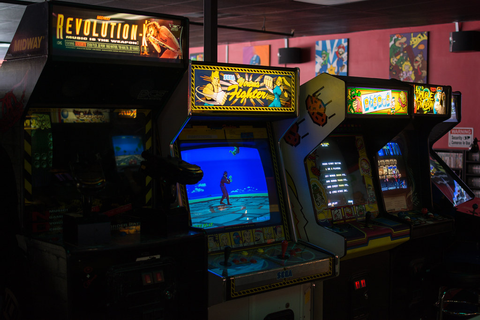 Yestercades, Somerville, NJ 5/3/15 | Playing classic ...