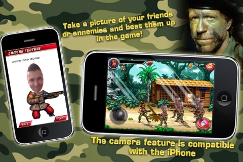 Chuck Norris Is Gameloft's Free iPhone Happy Hour Title ...