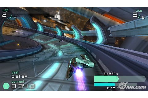 WIPEOUT PULSE - PSP - Imagen 258050