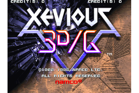 Xevious 3D/G (Japan, XV31/VER.A) ROM Download for MAME ...