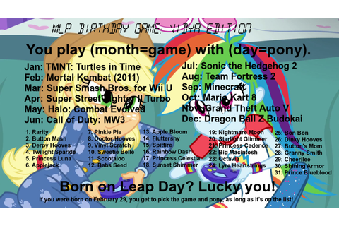 #1009040 - applejack, awesome, birthday game, call of duty ...