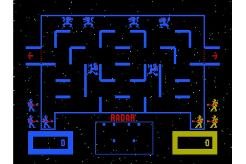 Space dungeon from the arcade's past – Wizard of Wor ...