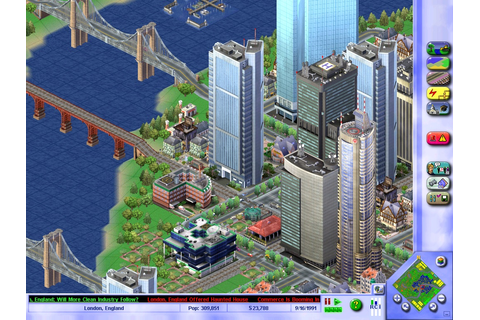 Free Download Sim City 3000 PC Game Ripped Full Version ...