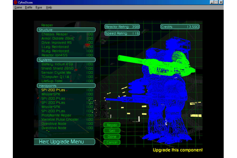 MissionForce: CyberStorm (1996 - Windows). Ссылки ...