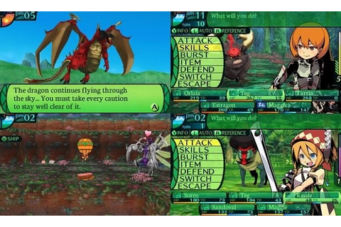 ETRIAN ODYSSEY IV LEGENDS OF THE TITAN DESENCRIPTADO ROM ...