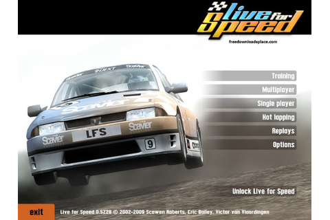 Live For Speed s2 Alpha Game - Free Download Full Version ...