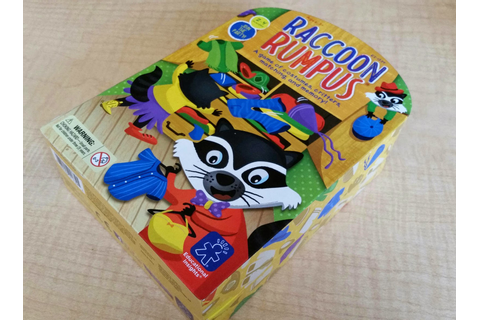 Mommy on the Money: Review - Racoon Rumpus Game