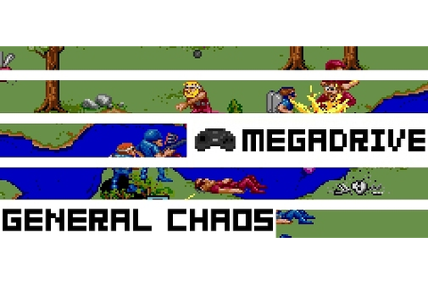 Boxed Pixels: Mega Drive Review - General Chaos (Game 129)