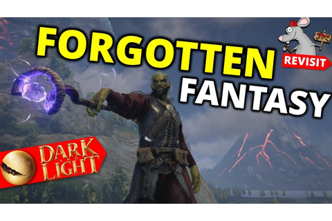 THE FORGOTTEN FANTASY SURVIVAL GAME! Dark And Light 2019 ...